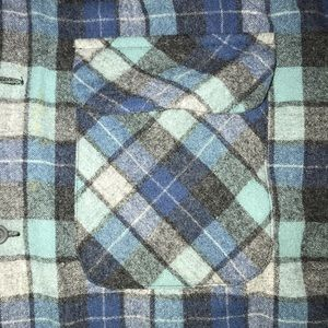 BEACH BOYS Pendleton Plaid Shirt XL Great Color
